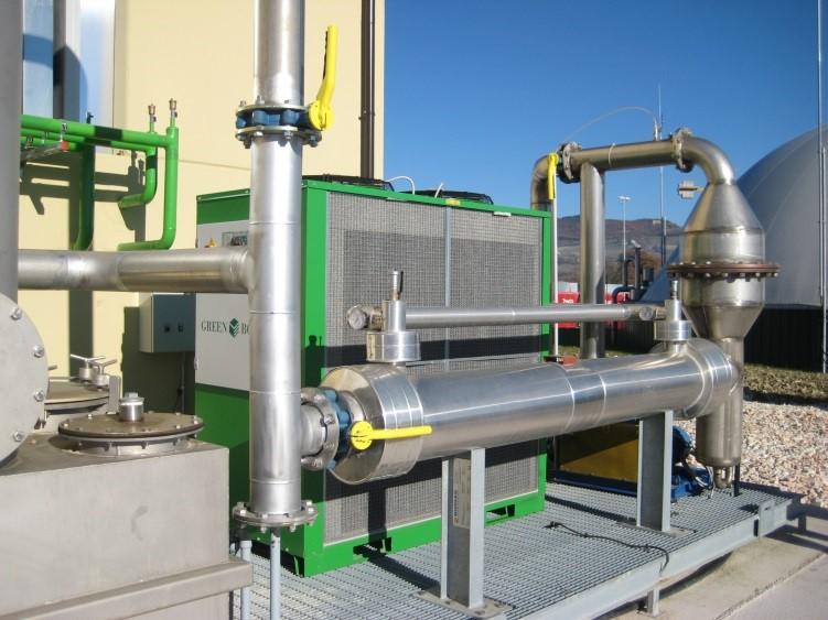STB 1 MW - Skid trattamento biogas